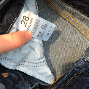 MOTHER Jeans - Mother jeans! Cropped - barely worn